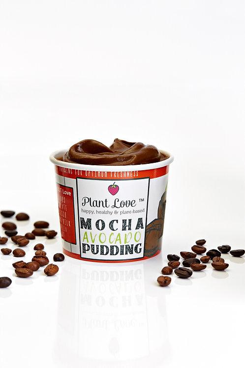 Plant-Based Mocha Avocado Pudding