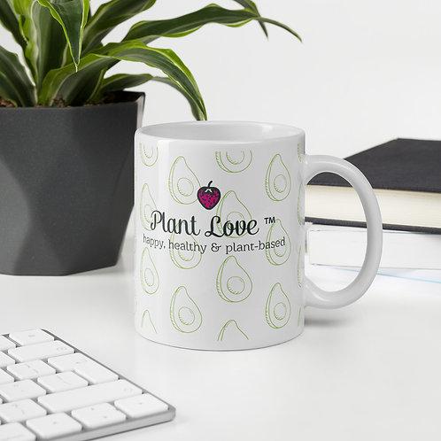 Plant Love Avocado Mug