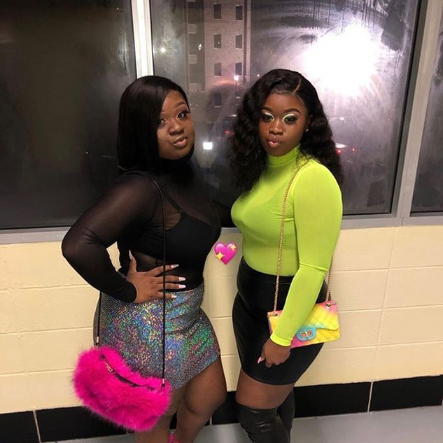 I don't care if they were real sisters🤩