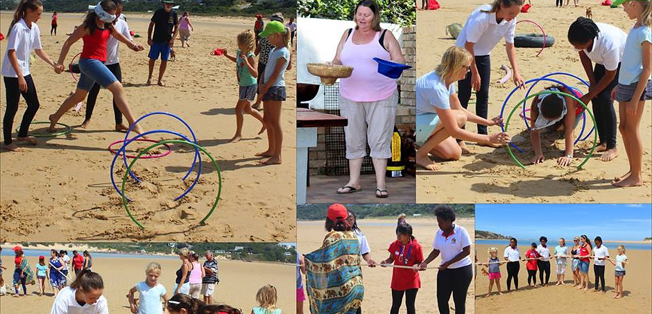 Team building event, Port Alfred and Kenton-on-Sea