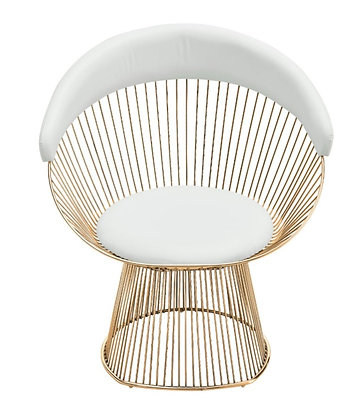Peltier Gold Chair
