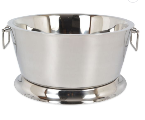 Double Walled Stainless Beverage Bucket