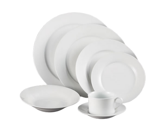 White Essent Dinnerware