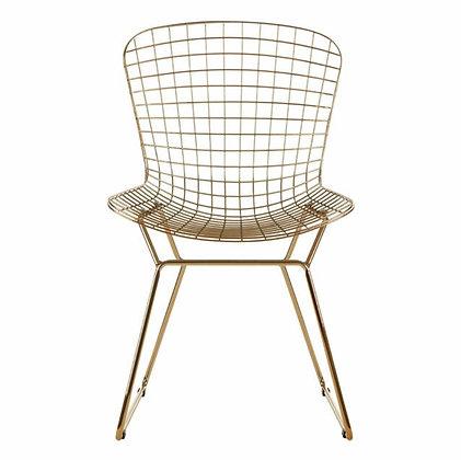 Bertoia Gold Chair