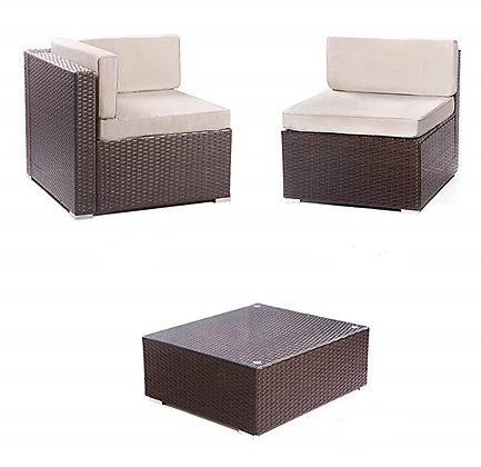 Brown Rattan Outdoor Furniture
