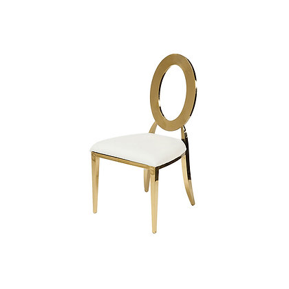 Gold O Accent Chair
