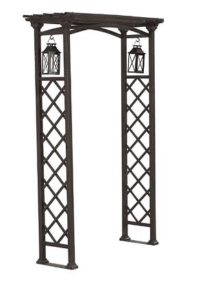 Rustic Metal Arch/Arbor