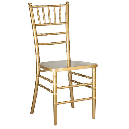 Gold Stackable Wood Chiavari Chair