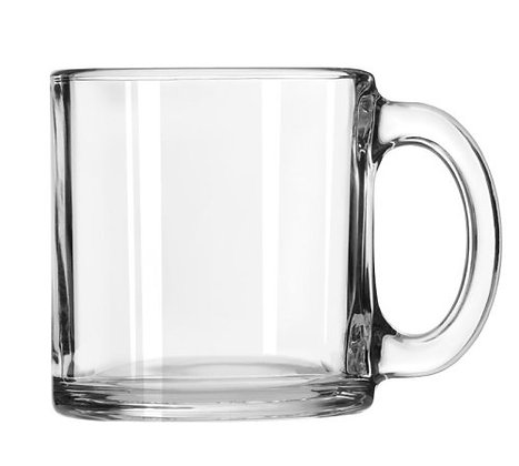 Clear Coffee Mug