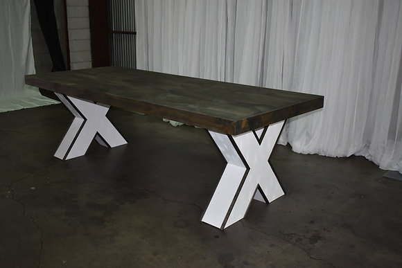 Tikal Rustic Banquet Table