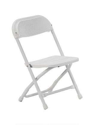 White Plastic Samsonite Children's Chair