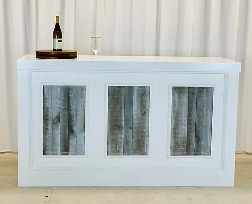 White Capistrano 6' Bar
