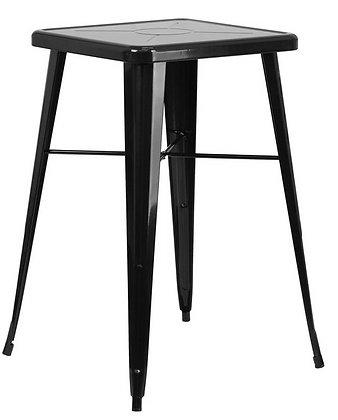 Black Metal Cocktail Table