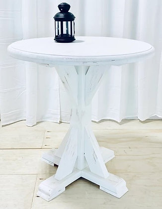White Meskite Table