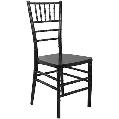Black Stackable Wood Chiavari Chair