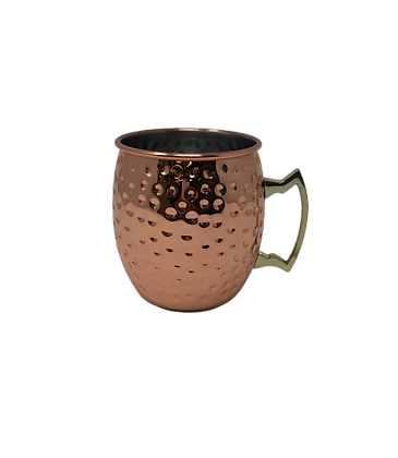Hammered Moscow Mule Cup
