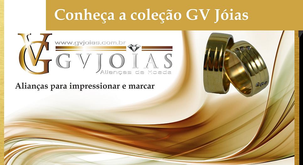 f6980c2a3b9 GV Joias Alianças de Moeda