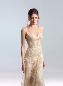 Kleid Wave