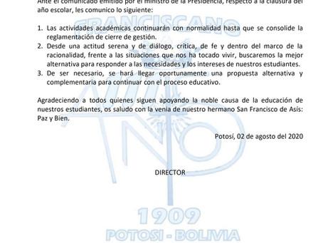 Comunicado 06/2020