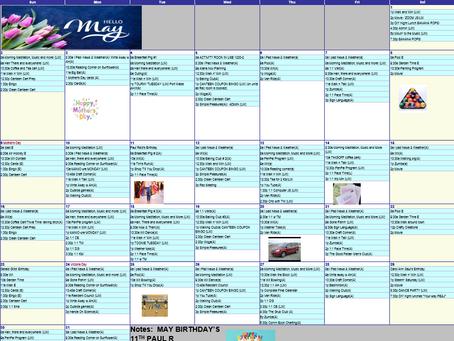 May 2021 Recreation Calendar - The Meadows Community