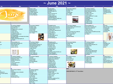 June 2021 Recreation Calendar - The Meadows Community