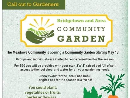 Calling All Gardeners!