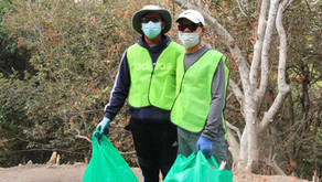 Trail Cleanup at the Vietnamese Heritage Garden Brings a Sense of Community