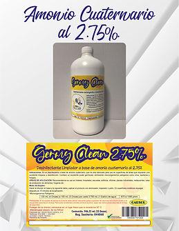 Amonio Cuaternario CARSOL
