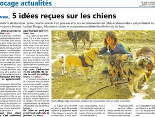 Interview pour La Voix Le Bocage