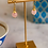 Thumbnail: Simple Briolette Cut Rose Drop Earrings