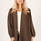 Thumbnail: Slouch cardi in olive