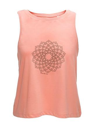 Pink Organic Cotton Vest Top