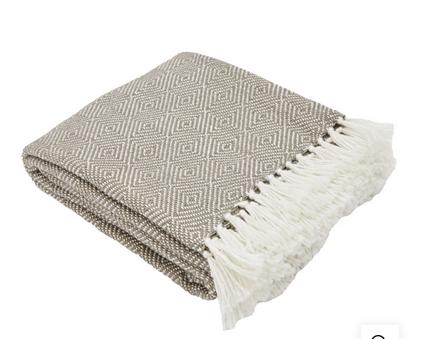 Weaver Green Blanket - Monsoon