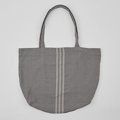 Weaver Green Maxime grey linen beach bag