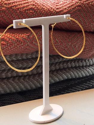 Medium Gold Hoop