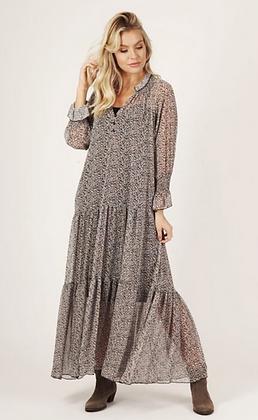Boho print maxi dress with under cami