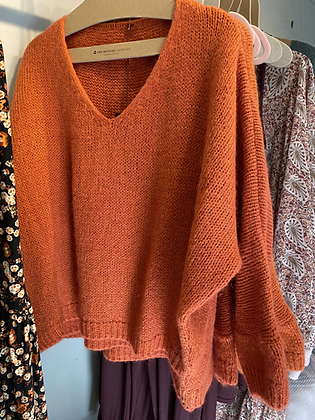 Slouchy soft sweaters