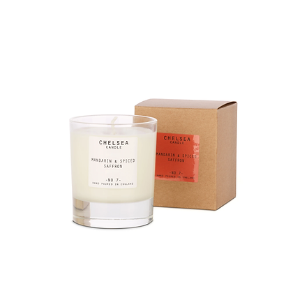 Large Mandarin and Spiced Saffron Candle