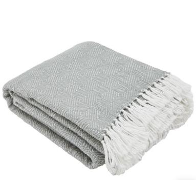 Weaver Green Blanket - Dove Grey