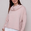 Thumbnail: Cotton relaxed cowl neck top