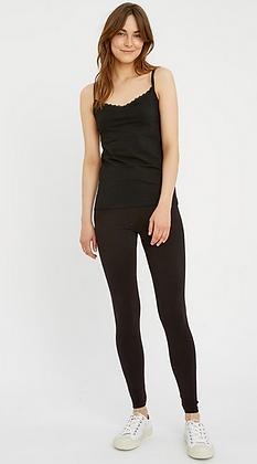 Organic Cotton Leggings in Black