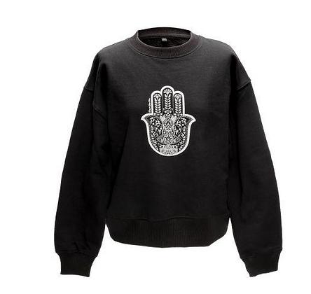 Organic Cotton Yoga Sweatshirt