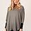 Thumbnail: Grey soft knit sweater