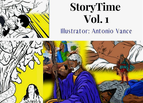 It's StoryTime Vol. I ~ The Bible Stories Coloring Book