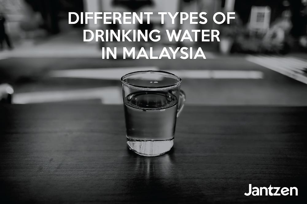Different types of drinking jantzen water