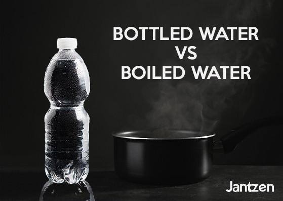 Bottled water vs boiled water