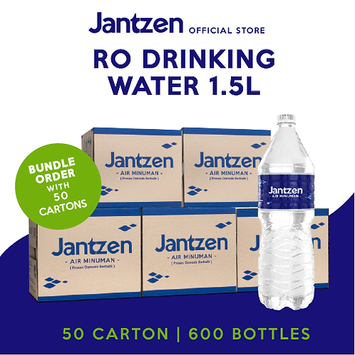 RO 1.5L - 50 Cartons Bundle