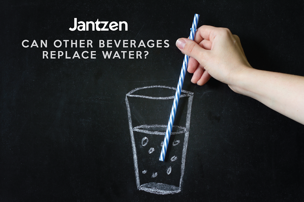 Jantzen article - can other beverages replace water
