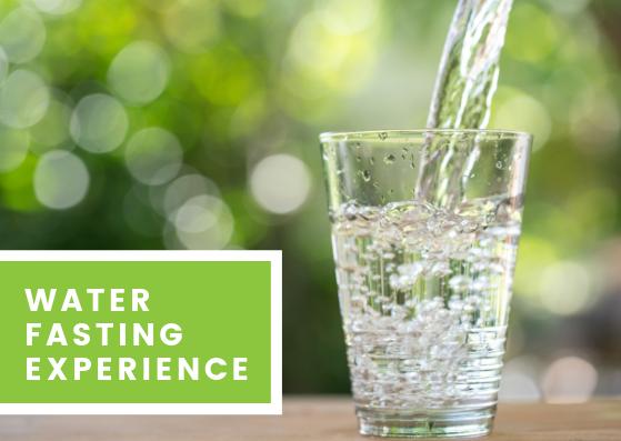 water fasting experience jantzen