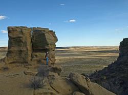 Corral Bluffs Hiker